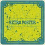 Fundo abstrato do quadro do vintage do grunge Vetor Imagem de Stock