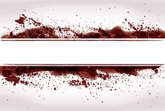 Fundo abstrato do splatter do sangue de Grunge Foto de Stock Royalty Free