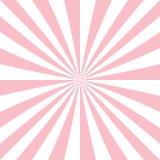 Fundo abstrato do starburst das listras radiais Imagens de Stock