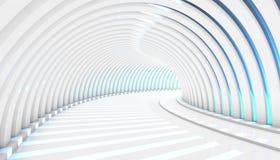 Fundo abstrato do túnel 3d Imagem de Stock Royalty Free