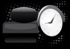 Fundo abstrato do tempo Imagem de Stock