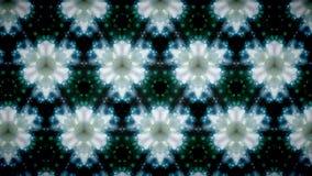 Fundo abstrato do teste padrão de flor branca Foto de Stock