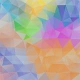 Fundo abstrato do triângulo Foto de Stock Royalty Free