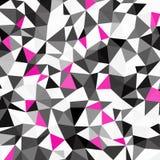 Fundo abstrato do triângulo da cor Ilustração do vetor Foto de Stock