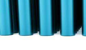 Fundo abstrato do tubo rendido ilustração do vetor