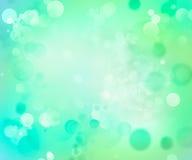 Fundo abstrato do verde azul ilustração do vetor
