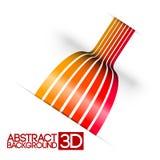 Fundo abstrato do vermelho 3d Fotografia de Stock Royalty Free