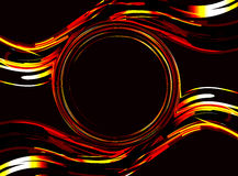 Fundo abstrato do vetor círculo Imagens de Stock