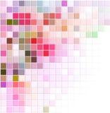 Fundo abstrato do vetor com quadrados coloridos Foto de Stock Royalty Free