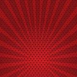 Fundo abstrato do vetor da explosão vermelha da estrela. Imagens de Stock