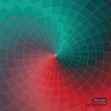 Fundo abstrato do vetor da forma com efeito do fluxo da cor, spect Imagens de Stock Royalty Free