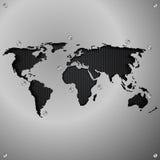 Fundo abstrato do vetor do mundo para o projeto Fotos de Stock