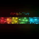 Fundo abstrato do vetor dos pontos coloridos Imagem de Stock Royalty Free