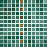 Fundo abstrato do vetor Mosaico verde telhado Eps 10 Foto de Stock Royalty Free