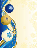 Fundo abstrato do Xmas Imagem de Stock Royalty Free