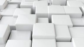 Fundo abstrato dos blocos 3d Fotos de Stock