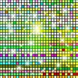 Fundo abstrato dos cubos da cor. Foto de Stock Royalty Free