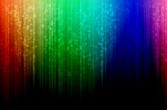 Fundo abstrato dos espectros Fotos de Stock