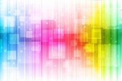 Fundo abstrato dos espectros Imagens de Stock Royalty Free
