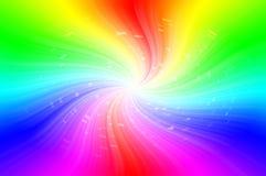 Fundo abstrato dos espectros Fotografia de Stock