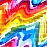 Fundo abstrato dos grafittis Imagens de Stock