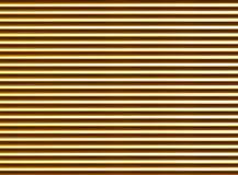Fundo abstrato dourado ondulado teste padrão com nervuras da textura horizontal dos tubos ilustração stock
