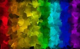 Fundo abstrato em muitas cores Fotografia de Stock Royalty Free