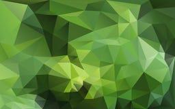 Fundo abstrato em tons verdes Imagens de Stock