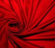 Fundo abstrato escura vermelho da seda Fotos de Stock