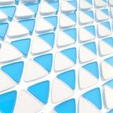 Fundo abstrato feito de triângulos lustrosos Foto de Stock