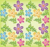 Fundo abstrato floral Fotos de Stock Royalty Free