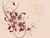 Fundo abstrato floral Foto de Stock