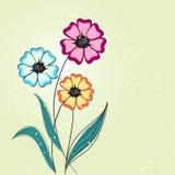 Fundo abstrato floral Imagens de Stock Royalty Free