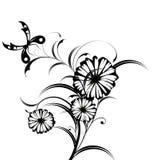 Fundo abstrato floral Foto de Stock Royalty Free