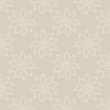 Fundo abstrato floral, sem emenda ilustração royalty free