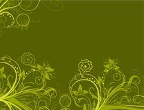 Fundo abstrato floral, vetor ilustração do vetor