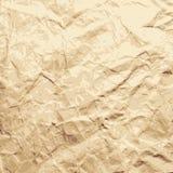 Fundo abstrato. Folha do papel esmagado. Foto de Stock