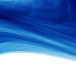 Fundo abstrato futurista azul da ilustração Fotos de Stock