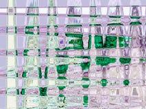 Fundo abstrato futurista malachite ilustração royalty free