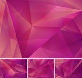 Fundo abstrato geométrico Imagem de Stock