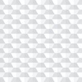 Fundo abstrato geométrico branco Fotos de Stock