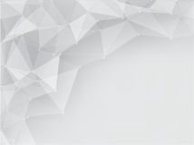 Fundo abstrato geométrico cinzento com espaço Foto de Stock Royalty Free