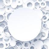 fundo abstrato geométrico do Livro 3d Branco  Imagens de Stock Royalty Free