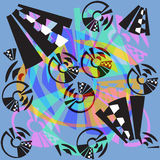 Fundo abstrato geométrico moderno Fotografia de Stock Royalty Free