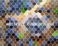 Fundo abstrato geométrico moderno Papel de parede brilhante Textura geométrica Teste padrão colorido Conceito creativo Vetor Fotos de Stock Royalty Free
