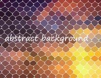 Fundo abstrato geométrico moderno Papel de parede brilhante Textura geométrica Teste padrão colorido Conceito creativo Vetor Fotografia de Stock