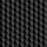 Fundo abstrato geométrico preto Fotos de Stock Royalty Free