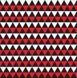 Fundo abstrato geométrico sem emenda da textura do teste padrão do triângulo Imagem de Stock Royalty Free