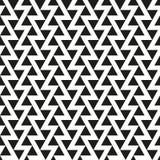 Fundo abstrato geométrico sem emenda da textura do teste padrão do triângulo Imagem de Stock