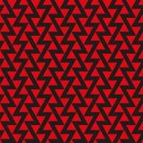 Fundo abstrato geométrico sem emenda da textura do teste padrão do triângulo Imagens de Stock